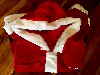 Girls Christmas Santa Outfit Soft Fancy Dress Age 2-3 Years