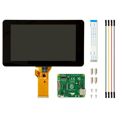 "Official Raspberry Pi 7"" Touchscreen LCD Dispaly for Raspberry Pi 3 Model B"