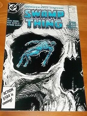 Swamp Thing #56 (Jan 1987, DC) VF COMIC BOOK