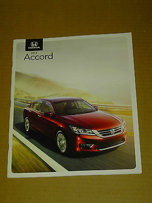 2014 Honda Accord Brochure Mint! 22 Pages