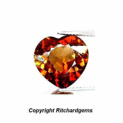 SALE! Large 11.15 Ct. Golden Imperial Champagne Natural Brazilian Topaz
