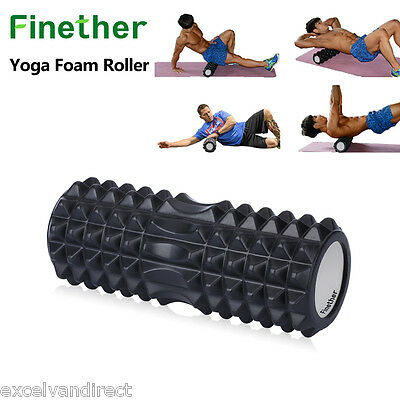 Yoga Foam Roller Exercise Trigger Point Gym Pilates Textured Physio Massage New
