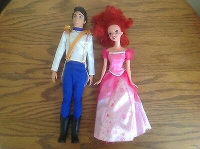 Prince Eric and Ariel Doll