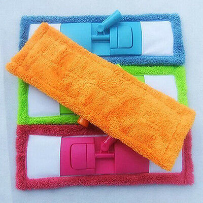 Home 1PC Microfiber Coral Household Mop Head Pad Replacement Cleaning Refill New