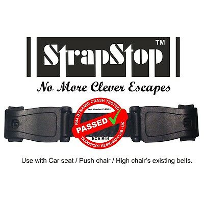 Strap Stop™ Kids Baby Car Seat Safety Harness Chest Strap Child Safety