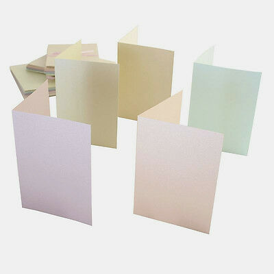 Anita's A6 Card and Envelope Pack of 50 Pastel Pearlescent