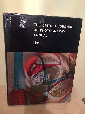The British Journal Of Photography Annual 1964 Vintage