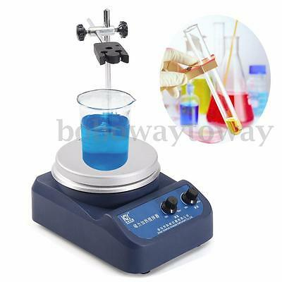 Magnetic Stirrer Mixer Machine with Heating Plate Medical Laboratory 220V 200W