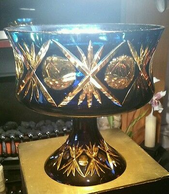 Murano specially commissioned one off,  large footed bowl