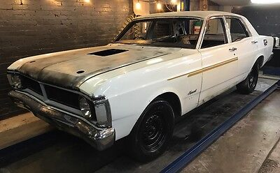 1971 Ford Fairmont XY Sedan 351 Cleveland 4 Speed Toploader GT Replica Project
