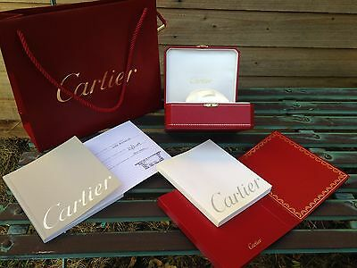 cartier watch box COWA 0043,carrier bag