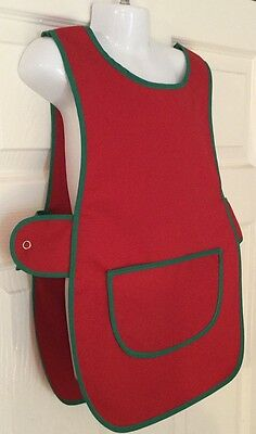 Wholesale Job Lot 5 Brand New Kids Childrens Tabards Aprons Red Green Clothes