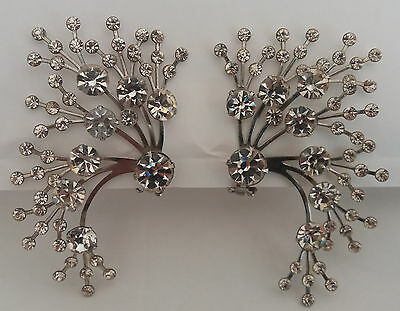drag queen ohrclips °thelma deutsch° strass riesig runway ear covers 80er