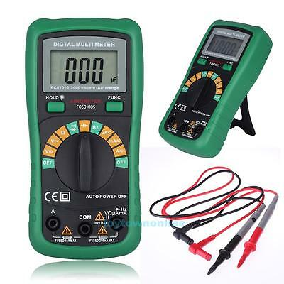 Auto Range LCD Digital Multimeter AC DC Frequency Resistance Tester Measurement