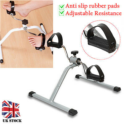 New Fit Arm & Leg Pedal Exerciser For Home Physiotherapy Fitness Mini Bike