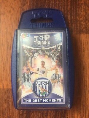 Winning Moves Top Trumps West Bromwich Albion FC Best Moments 2016 Sealed