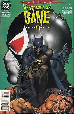 VENGEANCE OF BANE SPECIAL  II The Redemption...VF/NM....1995 ......Bargain!