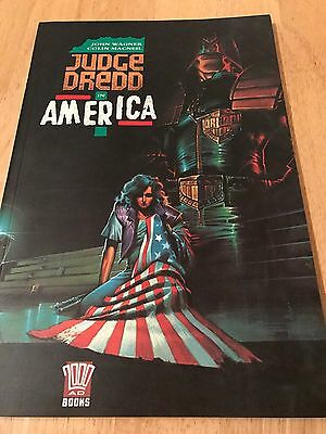 Judge Dredd In America First Edition Graphic Novel 1991