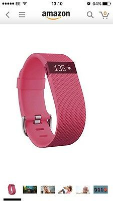 Fitbit Charge HR Heart Rate Small - Rose Pink
