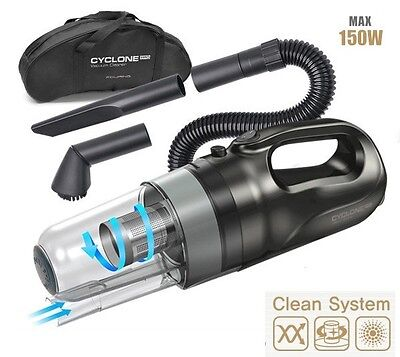 Car Vacuum Handheld Portable Pro-Cyclone Easy Versatile Auto Cleaner Power 150W