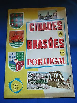 Portugal Cidades Brasoes Stickers Cards Book Album Look Scans