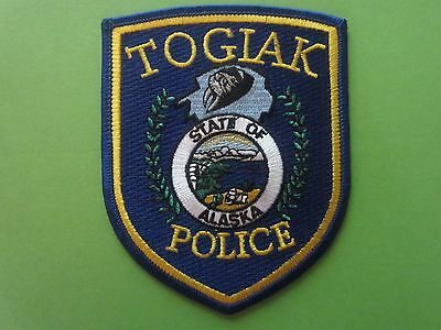 Collectible Alaska Police Patch Togiak New