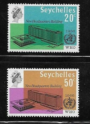 Seychelles 1966 WHO Headquarters issue Omnibus MNH