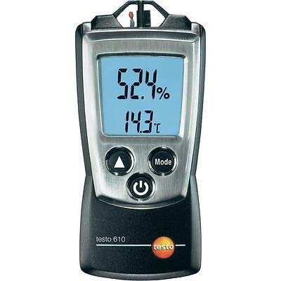 Testo 610 Thermo-Hygrometer. Check Indoor Air Quality in Offices & Warehouses