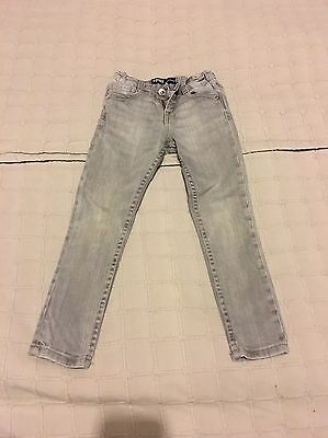 JEAN LÉVIS SKINNY FILLE Taille 4 ANS GRIS