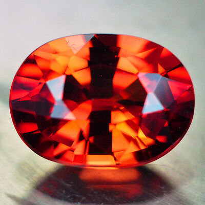 3.20ct.AWESOME ORANGE GOLD SAPPHIRE LOOSE GEMSTONE