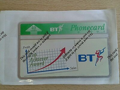 BT Phonecard, 40 Units, Mint & Sealed, Top Achiever Award