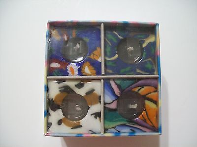 4Pcs. Square Candles Set Glowing Candle New Floating Tea Votive