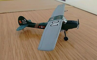 Cessna o-1 bird dog 1:72 very well made/painted  aircraft model.LOOK LOW PRICE!!