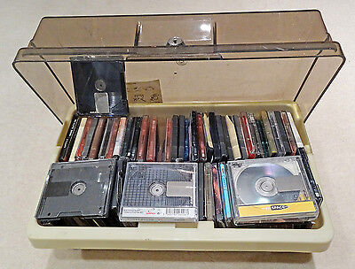 Collection of 75 used Mini Discs