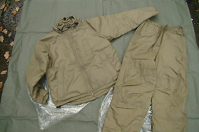 NEW - British Army Issue Cold Weather PCS Thermal Suit (Smock & Trousers)