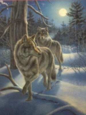 Puzzle roll away- Winter Wolves- 1000 pcs Puzzle