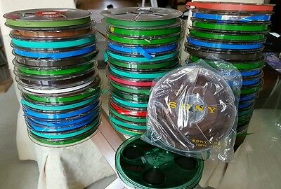 "10 tapes Scotch 5"" reel to reel tapes in boxes vgc"