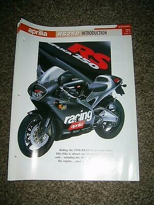 Aprilia RS250 The complete fact file from Essential Superbikes 34 Pages