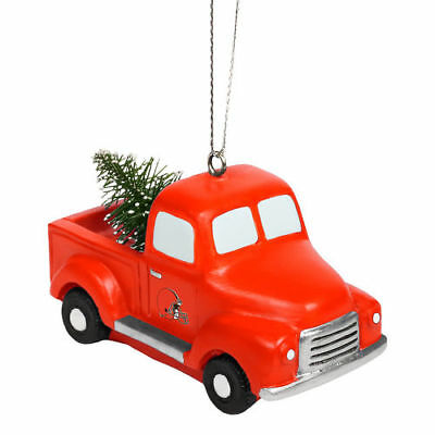 Cleveland Browns Truck With Tree Ornament - NFL