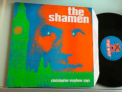 "LP  12""  The Shamen ‎– Christopher Mayhew Says"