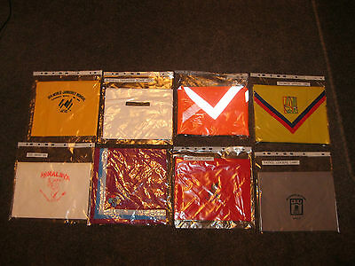 Special Scout Camp Scarfs 1973- onwards