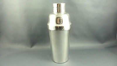 Wonderful French ART DECO Cocktail Shaker silverplated similar Christofle