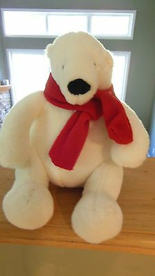 Coke Coca-Cola Polar Bear 2014 Plush Stuffed Animal 7 in