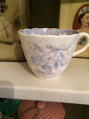Blue And White Floral Tea Cup