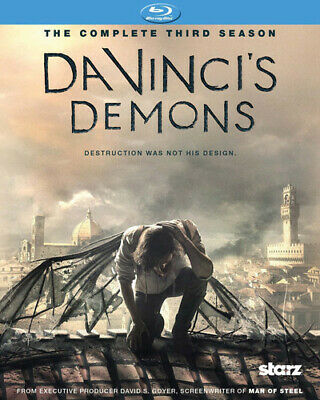 Da Vinci's Demons: Season 3 [New Blu-ray] 3 Pack