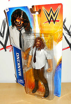 WWE - Mankind - Mattel Basics - Series 45 - wrestling action figure