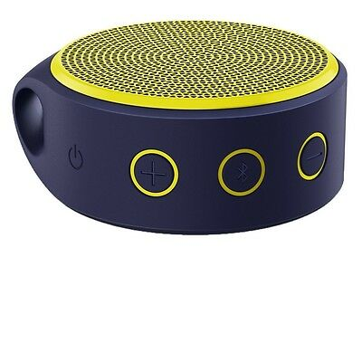 Logitech X100 Mini Bluetooth Portable Speaker with Charger - Yellow