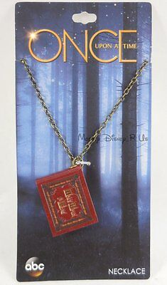New Disney ABC Once Upon A Time Henry's Book Pendant Necklace