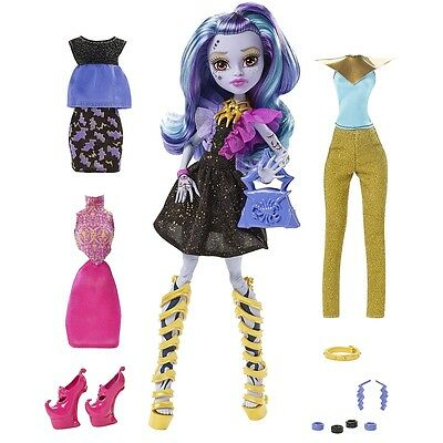 Monster High - DMF96 - Whisp Puppe + Mode - NEU OVP
