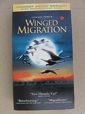 """""""Winged Migration"""" VHS Home Video"""
